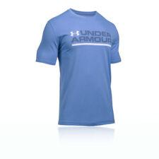 Abbiglimento sportivo da uomo blu Under armour in cotone