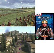 MEDIEVAL TOTAL WAR 2 Nachfolger v. Shogun Rome Gebraucht Sehr guter Zustand