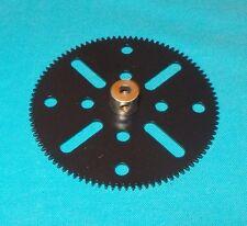 MECCANO roue 95 dents, No 27c noire satiné (repeintes)