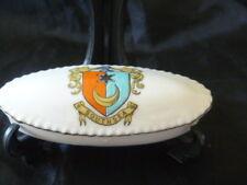 crested china   trinket box   Southsea crest grafton china