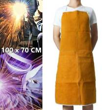 Leather Welders / Welding / Carpenters / Blacksmith Apron Protection Clothes Bib