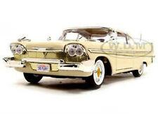1958 PLYMOUTH FURY BEIGE 1/18 DIECAST MODEL CAR BY MOTORMAX 73115
