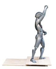 BORINT, Sculpture made of resin, wood. Author Konrad Ziolkowski