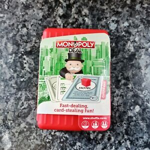 Monopoly Deal Shuffle Card Game - Fast-Playing Travel Pack - NEW - RARE.