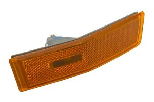 07-10 Lincoln MKX Front Bumper Passenger Side Marker Light Amber Reflector OEM