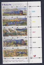 Sud Africa South Africa 1997 Posta Aerea Treni 12-16 MNH