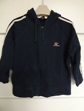 NEXT 82 Athletic Boys Black Tracksuit Hoodie 100% Cotton Age 6 Years