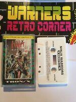 Spectrum Zx Sinclair Ninja Warriors Retro Game Boxed