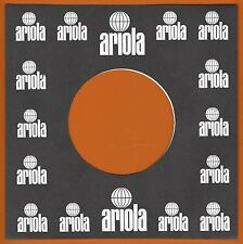 ARIOLA REPRODUCTION RECORD COMPANY SLEEVES - (pack of 10)