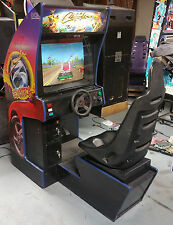 Cruisin Exotica Full Size Arcade Sit Down Driving Game!! GAME ROOM! Exotica #1