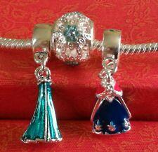 Disney Charm Frozen Bead Charm Set Of 3 Fits European Charm Bracelets 161