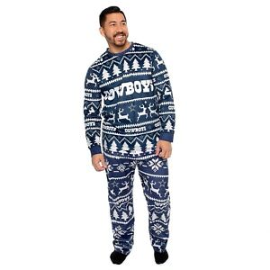 Dallas Cowboys NFL Men's Christmas Pajama Set Size Small ~ NWT