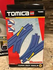 Tomy Tomica Hypercity Turn Out Rails Track Expansion 2 pc Set 70533 - New