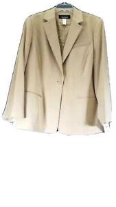 Jones New York Platinum Woman Blazer Size 18W NWT $219