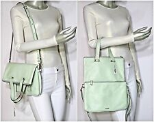 Fossil Memoir Anthology Leather Tote Pastel Green ZB5718314 NWT $248.00