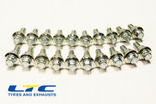 20 x RANGE ROVER To Transporter VW T5 Alloy Wheel CONVERSION Bolts