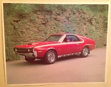 1970 AMX 390 Rare - Out of Print Car Poster! Own It!