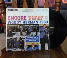 Woody Herman 1963. Encore The Best Band of the Year.