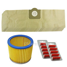10 BAGS + FILTER for LIDL PARKSIDE Vacuum PNTS 1250 1300 1400 1500 A1 B1 + Fresh