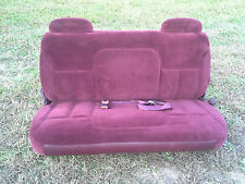 1995 GMC Chevrolet Suburban Cloth 3rd Row Seat Third 96 97 98 99