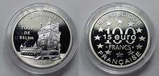 1997 France Large Silver Proof  100 Fr/15 Euro Lisbon/Tour De Belem