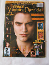 ICONS Vampire Chronicle Magazin 01/2010 Twilight New Moon Robert Pattinson