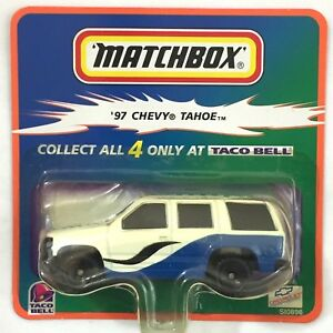 Matchbox Taco Bell '97 Chevy Tahoe Classic Collectors Car 1:64