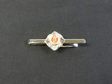 The Royal Scots silver Plated Tie Clip / holder