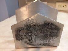 Wendell August Forge aluminum napkin holder
