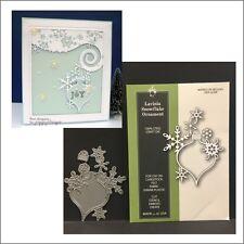Lavinia Snowflake Ornament die - Poppystamps dies 1619 Christmas,holidays
