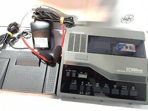 Olympus DT550Mini MiniCassette Desktop Transcriber Transcription Machine D500