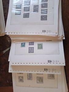 Lindner Bund 1949-1998 Falzlosvordrucke Seiten 1-206 in 4 Ringbindern