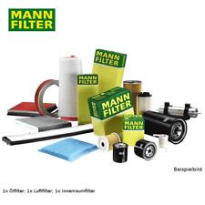 Filter MANN Luftfilter Ölfilter Innenraumfilter Set  BMW 3er 316i 318i 320i /