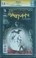 Batman 22 Janin Variant CGC SS 9.8 Capullo Snyder 2 signed Top 1 Miki art