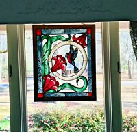 Stained Glass,Hand Painted Window Design Panel