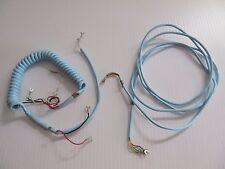 NOS Western Electric Blue Cord Set Spade Terminals not modular