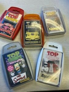 Top Trumps 5 Collectable Games