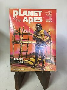 Vintage Planet Of The Apes Addar General Alde 1973 Rare Vintage Model Kit!