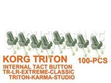 KORG TRITON LE-TR-EXTREME-KARMA-STUDIO-CLASSIC-M3 100PCS PUSH BUTTON