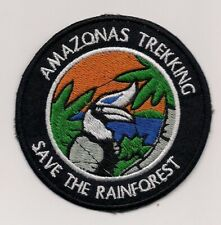 Amazon - Save the Rainforest Souvenir Patch