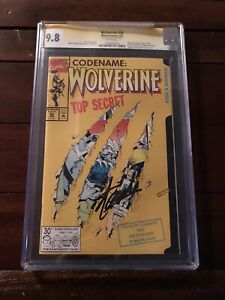 Wolverine #50 CGC 9.8 Signed By Stan Lee