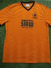 Wolverhampton Wanderers 1988 Retro Football Shirt - Size XXXXXL Mens 5XL Wolves