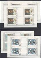 AH5262/ CZECHOSLOVAKIA – Y&T # 2744 / 2748 MINT MNH SOUVENIR SHEETS – CV 150 $