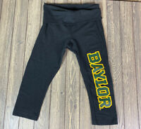 Boxercraft Womens Baylor Practice Capri Size Small Athletic Black Green Yellow