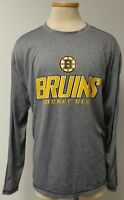 BOSTON BRUINS HOCKEY CLUB OFFICIAL LICENSED LONG SLEEVE T SHIRT MENS SIZE 2XL