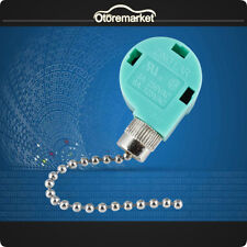 Zing Ear ZE-268S6 ZE-208S6 3 Speed 4 Wire Ceiling Fan Pull Chain Switch Control