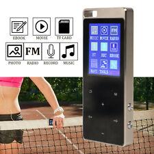 16GB Bluetooth MP3 Player 1,8 Zoll Musikspieler FM Radio HiFi Bass LCD Display