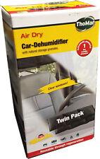 Thomar Deumidificatore da auto ARIA DRY riutilizzabile Twin Pack, lo stoccaggio naturale granuli