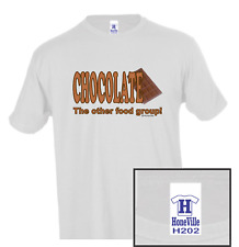 Chocolate The Other Food Group HoneVille Unisex T-shirt Youth Adult