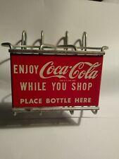 1950 Coca Cola Soda Pop Coke Grocery Basket Coke Bottle Holder